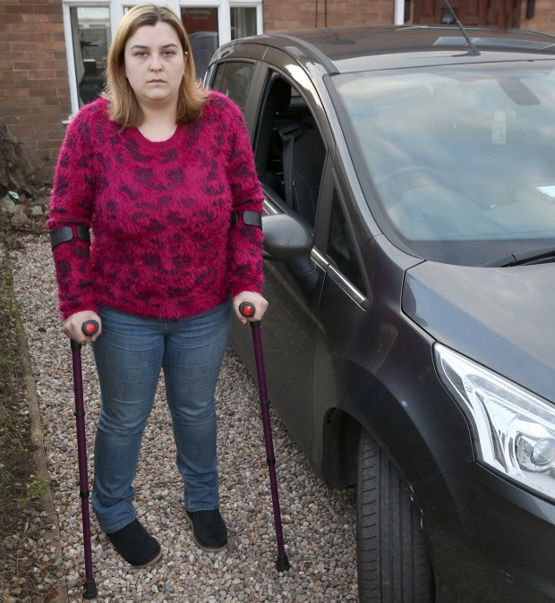 Disabled woman 2